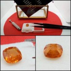 Coleccionismo de gemas: GRANATE ESPESARTITA COJÍN NAMIBIA OVAL 2.20 CT.. Lote 280114308