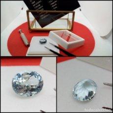 Coleccionismo de gemas: TOPACIO AZUL CIELO OVAL LIMPIO 6.48 CT.. Lote 280115378