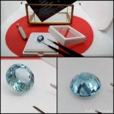 Coleccionismo de gemas: TOPACIO BABY BLUE VS REDONDO 6.42 CT.. Lote 280115683