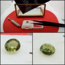 Coleccionismo de gemas: TURMALINA VS OVAL VERDE 0.81 CT.. Lote 280115813
