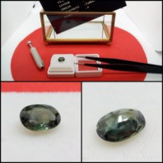 Coleccionismo de gemas: ZAFIRO OVAL AZUL PÚRPURA 1.14 CT.. Lote 280115998