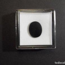 Coleccionismo de gemas: ONICE TALLA CABUJON TABLA TALADRO CENTRAL . MEDIDA 14 X 17 MM. PESO 5,17 CTS. BRASIL. SIGLO XX. Lote 284564328