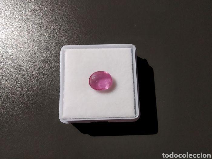 RUBÍ ROSA - 2 CT (Coleccionismo - Mineralogía - Gemas)