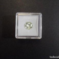 Coleccionismo de gemas: PERIDOTO RECONSTITUIDO TALLA OCTOGONAL. MEDIDA 9 X 9 MM. PESO 3,10 CTS. SUIZA. SIGLO XX. RARA. Lote 285140348