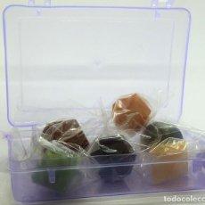 Coleccionismo de gemas: LOS CINCO CRISTALES PLATÓNICOS. Lote 288395923