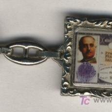 Coleccionismo de llaveros: CURIOSO LLAVERO DE FRANCO. Lote 22766980