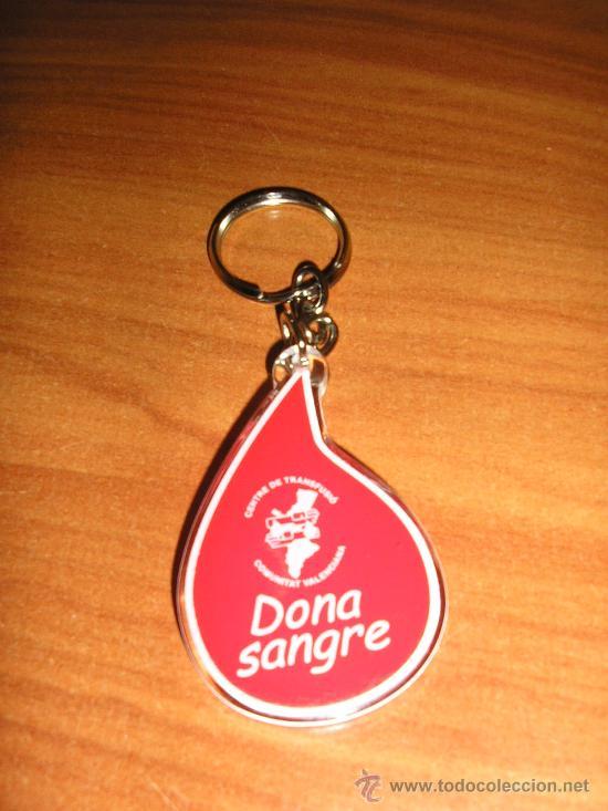LLAVERO DONA SANGRE-VALENCIA-2004 (Coleccionismo - Llaveros)