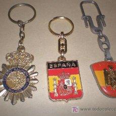 Coleccionismo de llaveros: LOTE 3 LLAVEROS. Lote 22194000