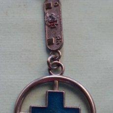 Colecionismo de porta-chaves: LLAVERO. HERMANDAD DE DONANTES DE SANGRE. CRUZ AZUL. . Lote 21717082