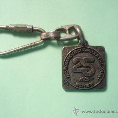 Coleccionismo de llaveros: LLAVERO DEL 25 ANIVERSARIO DE LA COCA COLA. Lote 25180221