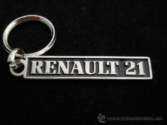 LLAVERO RENAULT 21 (Coleccionismo - Llaveros)
