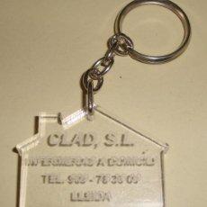 Coleccionismo de llaveros: LLAVERO CLAD LLEIDA. Lote 26190512