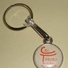 Coleccionismo de llaveros: LLAVERO CAL TARIBO BALAGUER. Lote 26237460