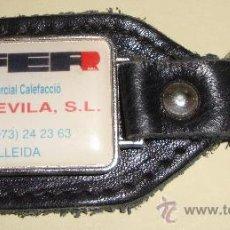 Coleccionismo de llaveros: LLAVERO SLDEVILA LLEIDA. Lote 26261421