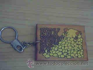 LLAVERO ESTOY HASTA LOS HUEVOS (Coleccionismo - Llaveros)