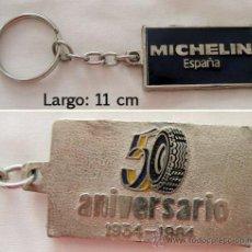 Coleccionismo de llaveros: LLAVERO MICHELIN 50 ANIVERSARIO. Lote 28630994