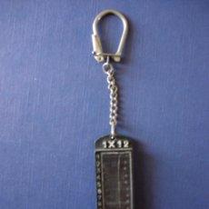 Coleccionismo de llaveros: LLAVERO DE QUINIELA 1 X 2 PRONOSTICOS 1X2. Lote 29175463