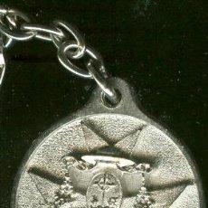 Coleccionismo de llaveros: SEMANA SANTA DE SEVILLA. ANTIGLLAVERO DE LA HERMANDAD DE SAN BUENAVENTURA. Lote 29479431