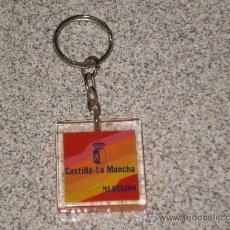 Coleccionismo de llaveros: LLAVERO CASTILLA LA MANCHA MI REGION , DE LOS AÑOS 80 . . Lote 29542546