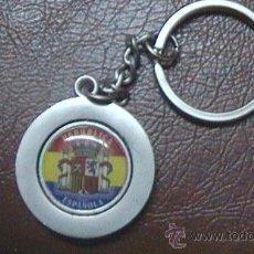 Coleccionismo de llaveros: LLAVERO REPUBLICA BANDERA ESCUDOS REPUBLICANOS REPUBLICA ESPAÑOLA. Lote 29873015