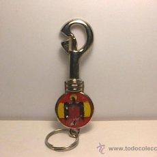 Coleccionismo de llaveros: LLAVERO MOSQUETON ESCUDO DEL AGUILA / ESCUDO DEL AGUILA. Lote 31608645