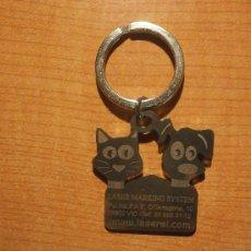 Coleccionismo de llaveros: LLAVERO LASER MARKING SYSTEM. Lote 31861603