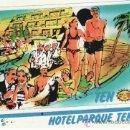 Coleccionismo de llaveros: POSTALES. ISLAS CANARIAS. SANTA CRUZ DE TENERIFE. HOTEL PARQUE TEN BEL. RASTRILLO PORTOBELLO. Lote 32230399