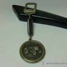 Coleccionismo de llaveros: LLAVERO DE AGROMALLORCA S.A TRACTORES. JOHN DEERE SERIE 35. Lote 32418222
