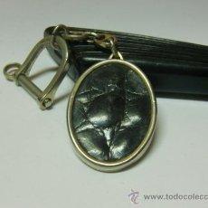 Coleccionismo de llaveros: LLAVERO METAL, CUERO. Lote 32458600
