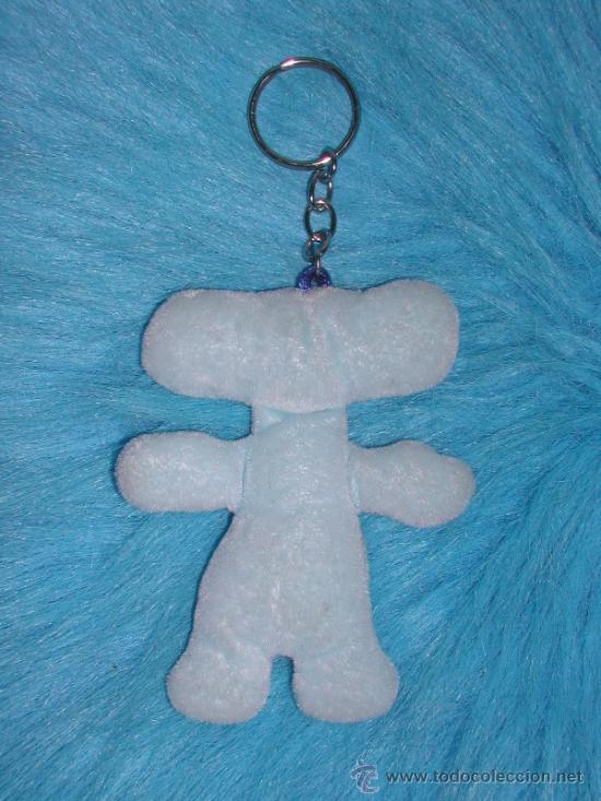Coleccionismo de llaveros: EXPO ZARAGOZA 2008 - Llavero de FLUVI, la Mascota. *** PELUCHE *** - Foto 2 - 33235776