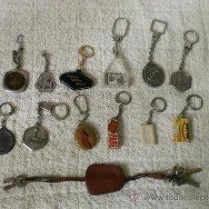Coleccionismo de llaveros: LOTE ANTIGUOS LLAVEROS. Lote 33991524