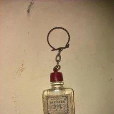 Coleccionismo de llaveros: LLAVERO BOTELLITA DE ALCOHOL DE MENTA DE RICQLES. FRANCE.. Lote 295857073