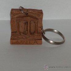 Coleccionismo de llaveros: LLAVERO, MONUMENTO A4 POSTES AVILA.. Lote 34063055