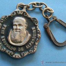 Coleccionismo de llaveros: LLAVERO RELIGIOSO. FRAY LEOPOLDO DE ALPANDEIRE. . Lote 35576728