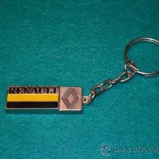 Coleccionismo de llaveros: LLAVERO RENAULT. Lote 36816459