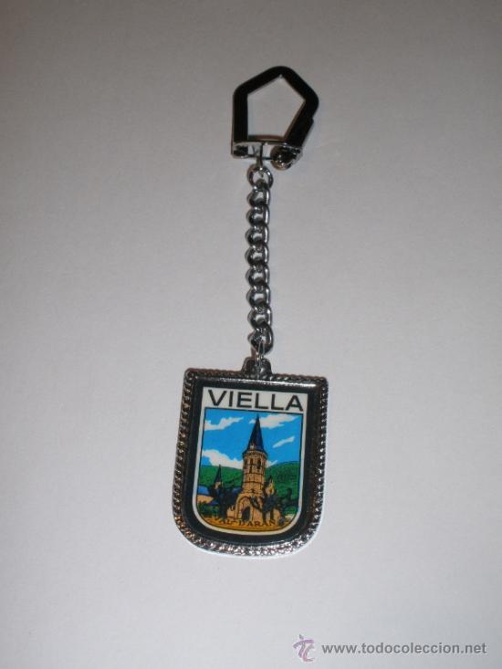 LLAVERO VIELLA (LLEIDA) (Coleccionismo - Llaveros)