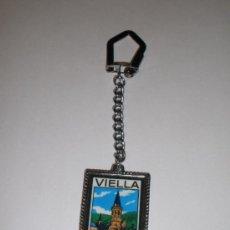 Coleccionismo de llaveros: LLAVERO VIELLA (LLEIDA). Lote 37010374