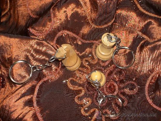 Coleccionismo de llaveros: Llavero de Ajedrez de madera: El Caballo blanco (2) - Foto 4 - 67985991