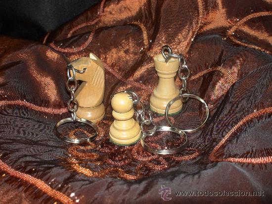Coleccionismo de llaveros: Llavero de Ajedrez de madera: El Caballo blanco (2) - Foto 5 - 67985991