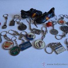 Coleccionismo de llaveros: LOTE DE 20 LLAVEROS.. Lote 38621218