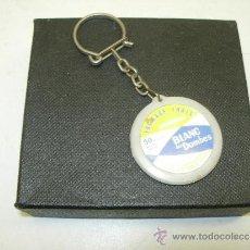 Coleccionismo de llaveros: LLAVERO FRANCÉS BLANC DES DOMBES AÑOS 60-70. Lote 38834427
