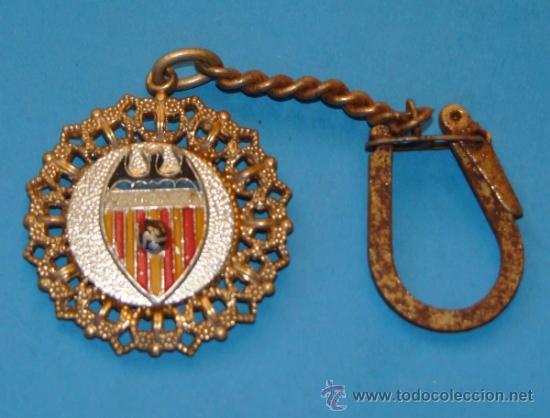 LLAVERO DE DEPORTES. FÚTBOL. VALENCIA FC. (Coleccionismo - Llaveros)