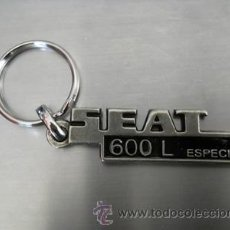 Coleccionismo de llaveros: LLAVERO SEAT 600 L ESPECIAL. Lote 187129176