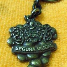 Coleccionismo de llaveros: MUY BUEN E INTERESANTE LLAVERO DE PUBLICIDAD DEL CAVA SEGURA VIUDAS - NO ES NUEVO -. Lote 40748257