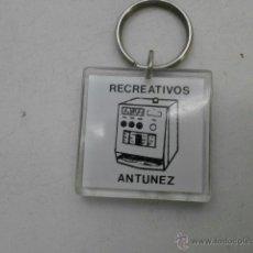 Coleccionismo de llaveros: LLAVERO RECREATIVOS ANTUNEZ LLAV-3522. Lote 125767678