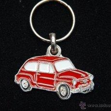 Coleccionismo de llaveros: LLAVERO SEAT 600 ROJO. Lote 105389426