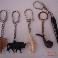Coleccionismo de llaveros: LOTE DE 9 LLAVEROS. Lote 43497497
