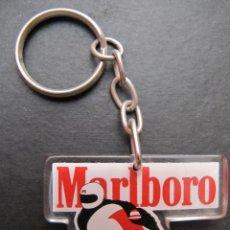 Coleccionismo de llaveros: LLAVERO TABACO MARLBORO AÑOS 90 MOTO. Lote 44022258