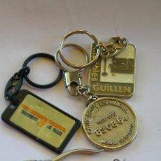 Coleccionismo de llaveros: **LOTE DE ANTIGUOS LLAVEROS**. Lote 44208435