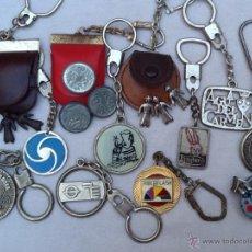 Coleccionismo de llaveros: LOTE LLAVEROS DE LOS 70 VARIOS 2. Lote 43667635